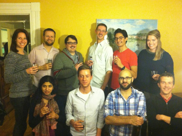 Marx lab photo 131114 Will party